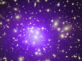 Galaxias lejanas (crédito NASA)