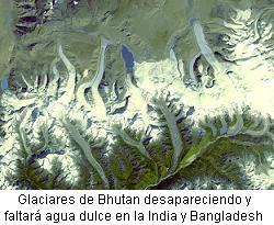 Glaciares Bhutan