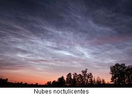 Nubes noctulicentes