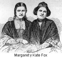 Margaret y Kate Fox