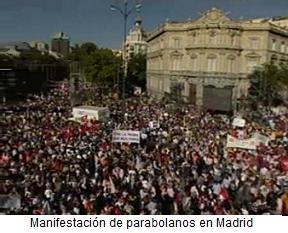 parabolanos en madrid