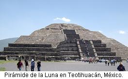 Pirámide de la Luna en México
