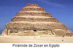 piramide de zoser en Egipto