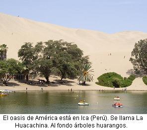 La Huacachina Ica