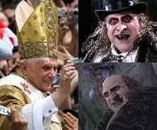 Los rostros de la secta católica