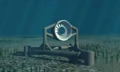 Turbina mareomotriz