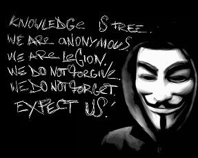 El lema de Anonymous