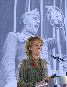 Aguirre nunca regateó dinero para la Fundación del tirano Franco. Pinchad en la imagen.
