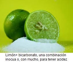 Desayunar limon con bicarbonato