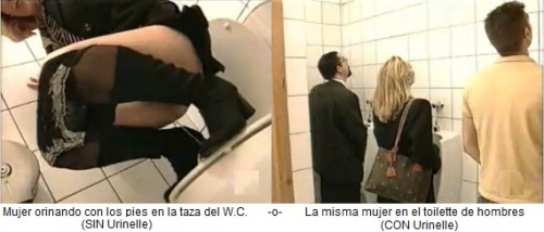 video mujer meando: