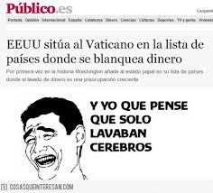 Blanqueo criminal en el Vaticano