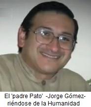 El todavía cura Jorge Gómez