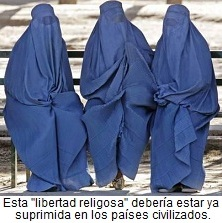 La barbaridad del burka