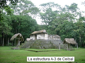 Estructura A-3 en Ceibal