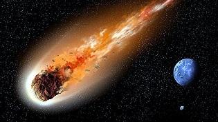 Recreación del asteroide 1999 RQ36