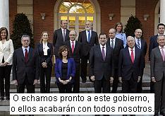 El gobierno que está arruinando a los españoles