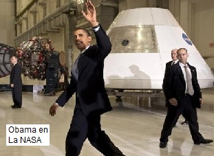 Obama en la Nasa
