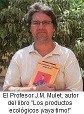 El profesor de biotecnologia J. M. Mulet