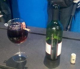 Extraer energía del vino