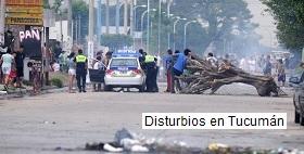 Cortes de carretera en Tucumán