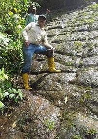 Formación rocosa en Ecuador por Atahualpa 1