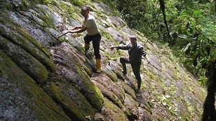 Formación rocosa en Ecuador por Atahualpa 2