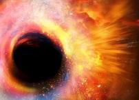 Recración de agujero negro