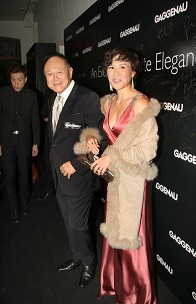 Cecil Chao y su hija Gigi