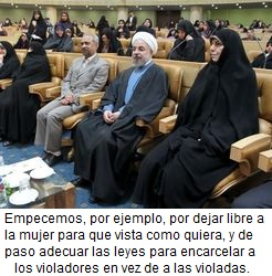 IRAN-POLITICS-WOMEN-ROWH