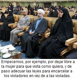 IRAN-POLITICS-WOMEN-ROWH