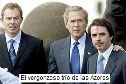 El trío de las Azores
