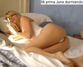 Mi Prima June Durmiendo