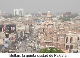 Vista de Multan