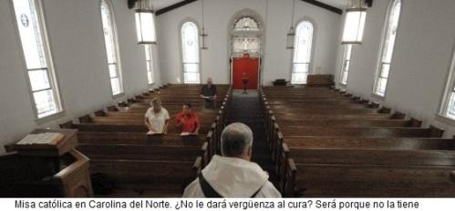 Misa católica en Carolina del Norte
