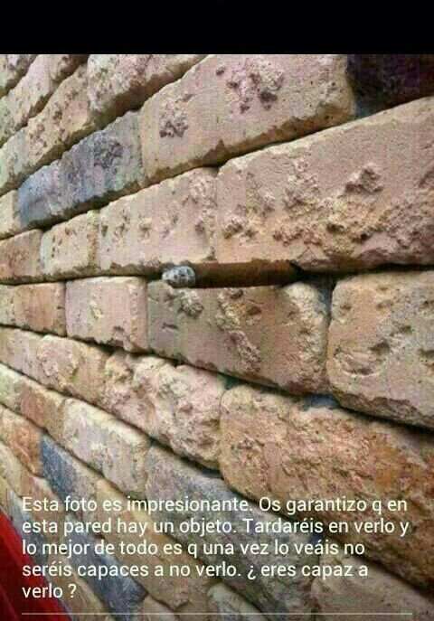 Pared con objeto