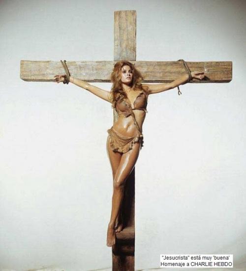 Jesucrista está 'buena'
