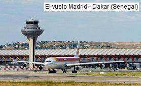 El avión Madrid Dakar