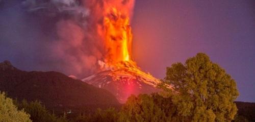 Erupción Volcán Villarrica1