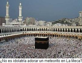 Musulmanes adorando en La Meca