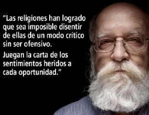 Daniel Dennett encajar bien las críticas