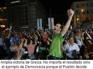 Victoria de la dignidad del pueblo griego