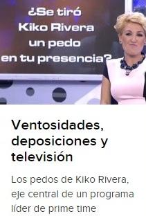 El pedo de Kiko Rivera