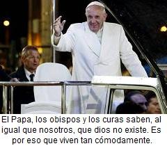 Simplezas del Papa