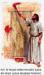 Marcar la puerta con sangre