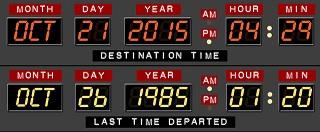 Marty McFly llega al futuro