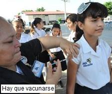 Hay que vacunarse