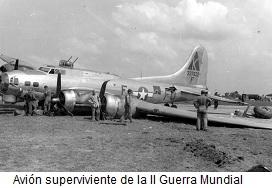 Avión superviviente