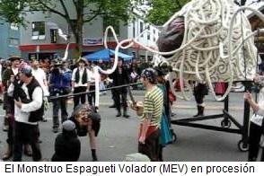 El MEV en procesión