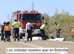 Ciclistas muertos